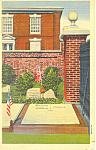 Grave of Ben Franklin,Philadelphia,PA Postcard