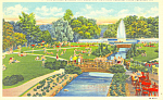 Electric Fountain,Hershey Park, Hershey,PA Postcard