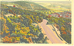 Skyline Boulevard, Reading,PA Postcard