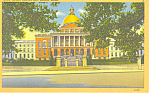 State House, Boston, MA Postcard