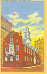 Old State House Boston MA Postcard p16963
