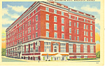 George Washington Hotel Winchester Virginia Postcard p16974