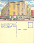 Hotel Statler  Boston  Massachusetts Postcard p16982