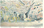 Click here to enlarge image and see more about item p16989: Woodward Cave,Crystal Lake, Woodward,PA Postcard