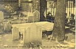 Click here to enlarge image and see more about item p16995: Grave of Benjamin Franklin,Philadelphia,PA  Postcard