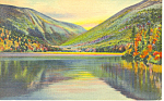 Echo Lake, Franconia Notch, NH  Postcard 1941