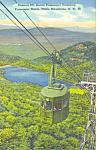 Click here to enlarge image and see more about item p17010: Aerial Tramway Cannon Mountain NH  Postcard p17010