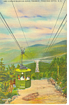Click here to enlarge image and see more about item p17011: Aerial Tramway Cannon Mountain NH  Postcard p17011
