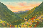 Crawford Notch, NH  Postcard 1949