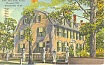 John Paul Jones House, Portsmouth, NH  Postcard