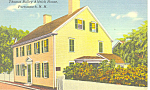 Thomas Aldrich House, Portsmouth, NH  Postcard