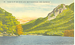 Eagle Cliff and Echo Lake, NH Postcard