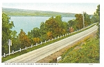 Watkins Glen Seneca Lake Postcard p1704