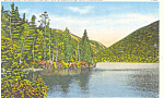 Echo Lake White Mountains ,NH Postcard