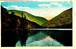Echo Lake White Mountains ,NH Postcard 1929