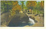 The Basin Franconia Notch NH Postcard p17056