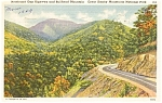 Great Smoky Mountains Park Postcard