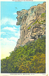 Old Man Of The Mountain, NH  Postcard