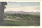 White Mountains From Whitefield, NH  Postcard