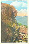 Washington Boulder,White Mountains, NH  Postcard