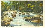 Jackson Falls, Jackson, NH   Postcard