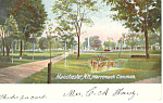 Merrimack Common, Manchester, NH   Postcard 1906