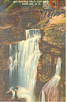 Paradise Falls, Lost River ,NH   Postcard