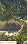 The Basin,�White Mountains,NH   Postcard 1915