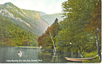 Echo Lake, Franconia Notch,NH   Postcard