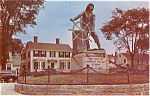 Gloucester MA Fisherman's Memorial Postcard