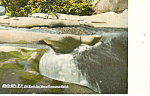 Old Mans Foot Basin,Franconia Notch,NH  Postcard