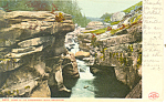 Gorge of the Ammonoosuc White Mountains NH  Postcard p17134