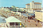 Skyline and Boardwalk View,Ocean City, NJ  Postcard 197