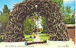 Arch of Elkhorm Jackson Hole WY Postcard cs1717 1972