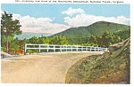 Click here to enlarge image and see more about item p1717: Shenandoah National Forest VA Postcard p1717