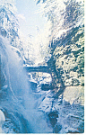 Click here to enlarge image and see more about item p17181: Rainbow Falls, Watkins Glen  NY  Postcard