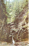 Stone Arch Bridge,Watkins Glen  NY  Postcard