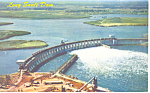 Click here to enlarge image and see more about item p17190: Long Sault Dam, St Lawrence Seaway  NY  Postcard