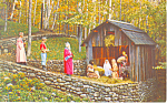 Nativity Pagent, Santas Workshop  NY  Postcard p17197
