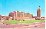 Olivet Lutheran Church  Fargo ND Postcard p17202 1989