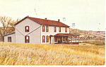 Click here to enlarge image and see more about item p17203: Marquis de Mores House, Badlands, ND Postcard 1981