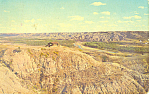 Click here to enlarge image and see more about item p17204: Badlands North Dakota Postcard p17204 1965
