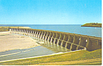 Click here to enlarge image and see more about item p17205: Garrison Dam Spillway, Riverdale ND Postcard
