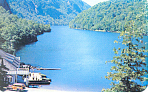 Ausable Lake Ausable Chasm NY  Postcard