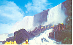 Rock of Ages Niagara Falls NY Postcard