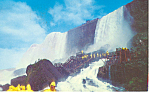 Rock of Ages Niagara Falls NY Postcard 1962