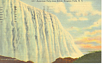 American Falls, Niagara Falls, NY Postcard 1954