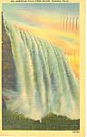 American Falls, Niagara Falls, NY Postcard 1949