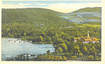 Click here to enlarge image and see more about item p17346: Otsego Amongst Hills, Cooperstown, NY  Postcard 1926