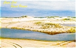 Click here to enlarge image and see more about item p1734: Cape Cod  MA Sand Dunes Postcard